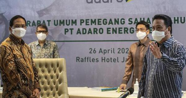 ADRO Adaro Siapkan Rp 4 T untuk Beli Kembali Saham, Harganya Melonjak 10% - Bursa Katadata.co.id